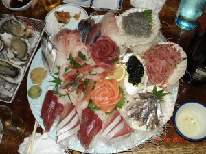 Japanese sea food